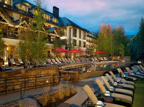 Vail Cascade Resort and Spa - Vail Cascade Exterior Summer Pool   Deck
