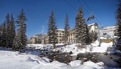 Vail Cascade Resort and Spa - Vail Cascade Exterior Winter Ski Lift