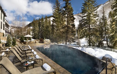 Vail Cascade Resort and Spa - Vail Cascade Exterior Winter Pool