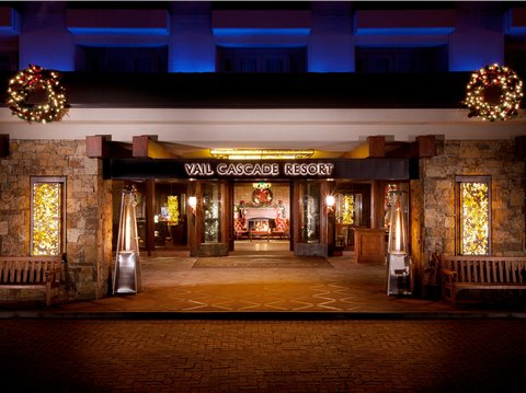 Vail Cascade Resort and Spa - Vail Cascade Exterior Front Entrance