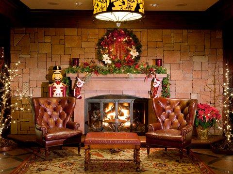 Vail Cascade Resort and Spa - Vail Cascade Interior Fireplace Holidays