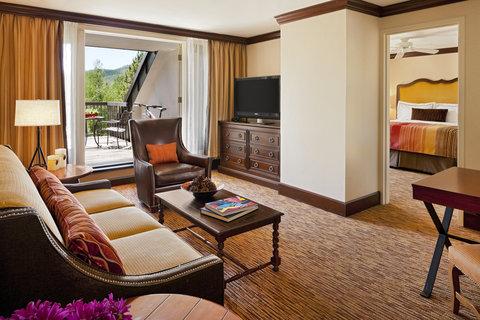 Vail Cascade Resort and Spa - Vail Cascade Hotel Suite Cascade Mountain View