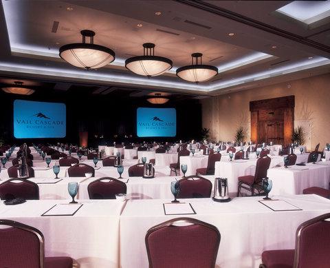 Vail Cascade Resort and Spa - Vail Cascade Meeting Centennial Ballroom