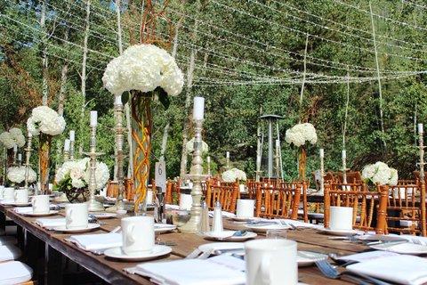Vail Cascade Resort and Spa - Vail Cascade Weddings Exterior Dinner