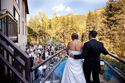 Vail Cascade Resort and Spa - Vail Cascade Weddings Back Deck