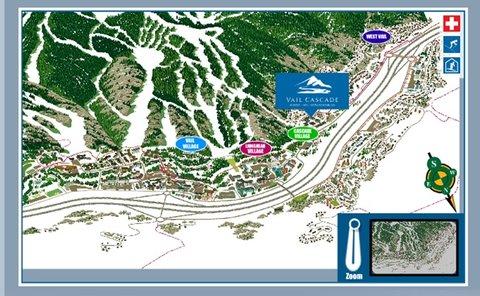 Vail Cascade Resort and Spa - Vail Cascade Map Interactive