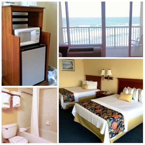 Emerald Shores Hotel - Oceanfront Standard 2 Queen Beds