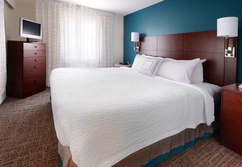 Residence Inn Dallas Market Center - Two-Bedroom Suite - Sleeping Area