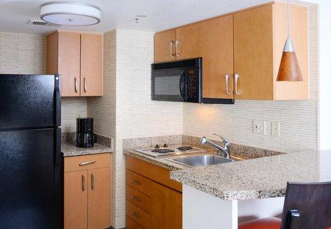 Residence Inn Dallas Market Center - Suite Kitchen