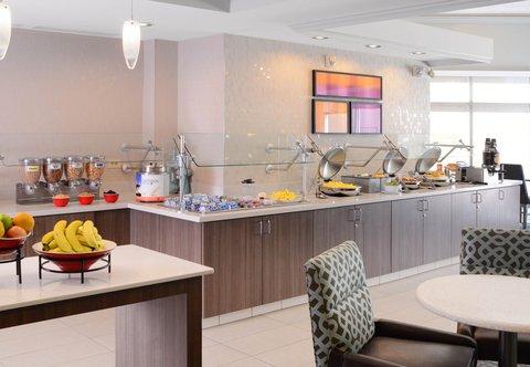 Residence Inn Dallas Market Center - Breakfast Buffet