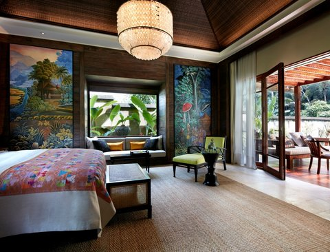 Mandapa, A Ritz-Carlton Reserve - One Bedroom Pool Villa Bedroom