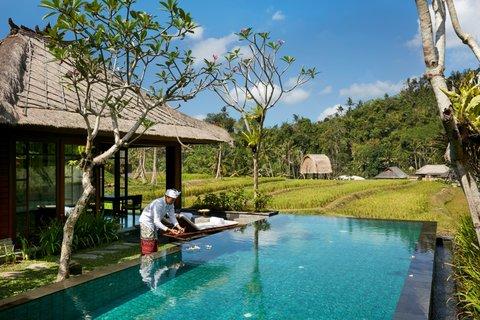 Mandapa, A Ritz-Carlton Reserve - One Bedroom Rice Field Pool Villa Swimming Pool