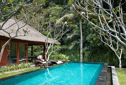 Mandapa, A Ritz-Carlton Reserve - One Bedroom Riverfront Pool Villa Swimming Pool