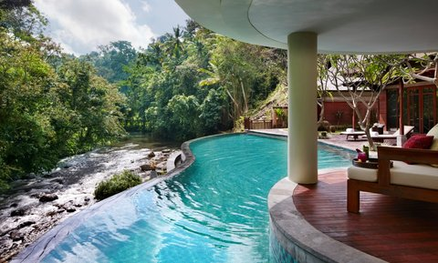 Mandapa, A Ritz-Carlton Reserve - Reserve Two Bedroom Pool Villa Swimming Pool