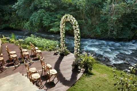 Mandapa, A Ritz-Carlton Reserve - Riverside In Villa Wedding