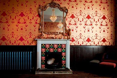 Bell In Ticehurst Hotel - Fireplace