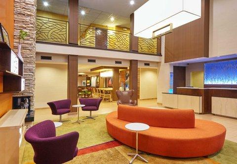 Fairfield Inn & Suites Chicago Lombard - Lobby