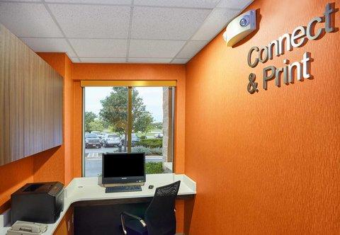 Fairfield Inn & Suites Chicago Lombard - Business Center