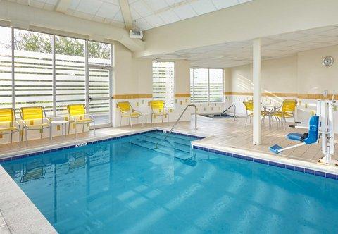 Fairfield Inn & Suites Chicago Lombard - Indoor Pool