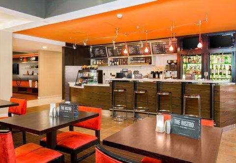 Courtyard Dayton North - The Bistro - Dining Area