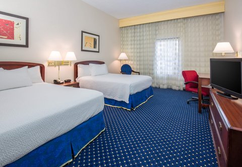 Courtyard Dayton North - Double Double Guest Room