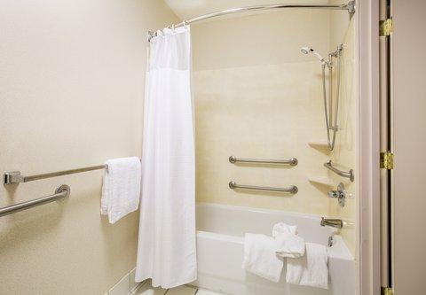 Courtyard Dayton North - Accessible Guest Bathroom