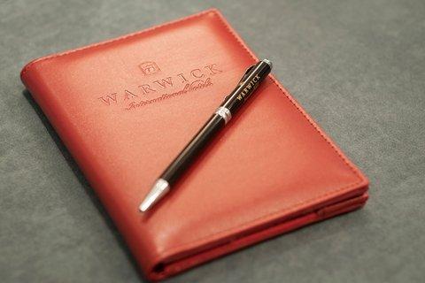 Warwick Hotel Dubai - Notepad
