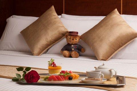 Warwick Hotel Dubai - In-Room Breakfast