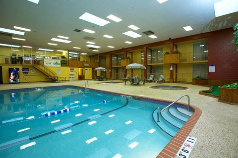 Holiday Inn Fairmont Hotel - We feature a large indoor heated swimming pool  kiddie pool   spa