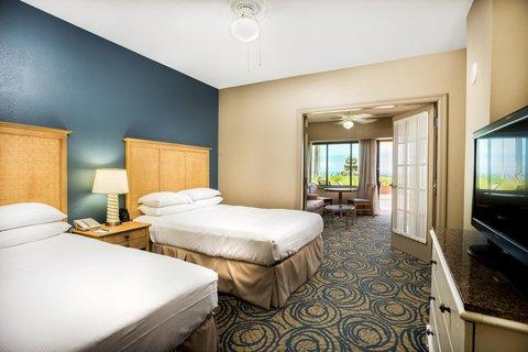 Hilton Daytona BeachResort-Ocean Walk Village - Two Queen Cabana Suite