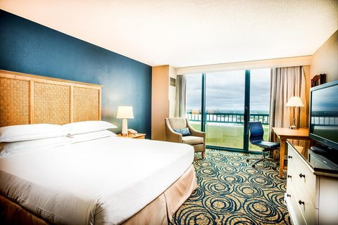 Hilton Daytona BeachResort-Ocean Walk Village - King Room with City View