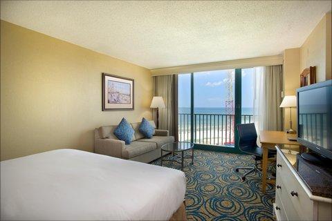 Hilton Daytona BeachResort-Ocean Walk Village - King Room with Pool View