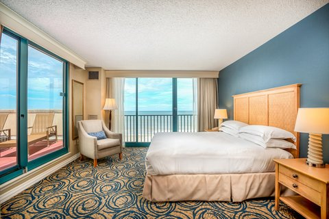 Hilton Daytona BeachResort-Ocean Walk Village - King Suite with Terrace