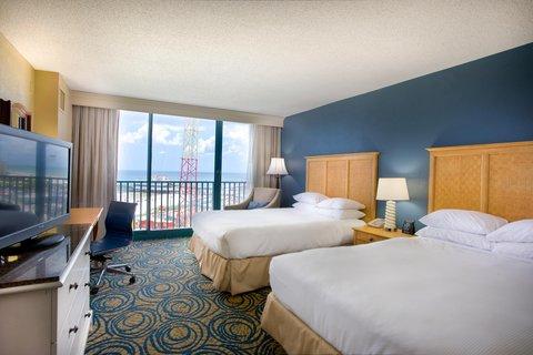 Hilton Daytona BeachResort-Ocean Walk Village - 2 Queens Pool View Room