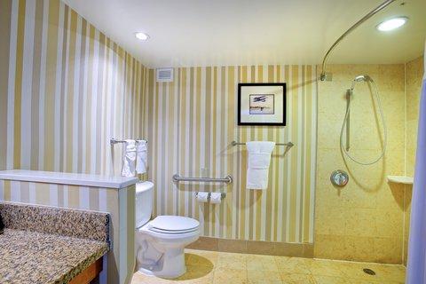 Hilton Daytona BeachResort-Ocean Walk Village - Roll-In Shower