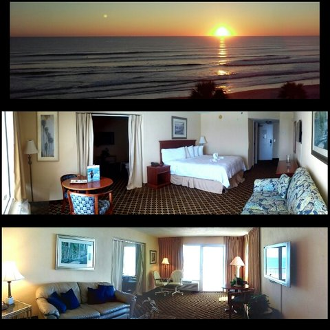 Emerald Shores Hotel - Penthouse- 1 king bed w sleeper sofa and Full Kitc