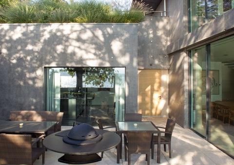 日内瓦香格里拉酒店及温泉 - Villa Du Lac Reserve Geneve Dining Room Terrace