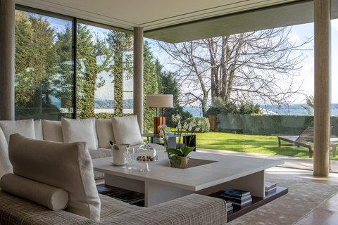 日内瓦香格里拉酒店及温泉 - Villa Du Lac Living Room