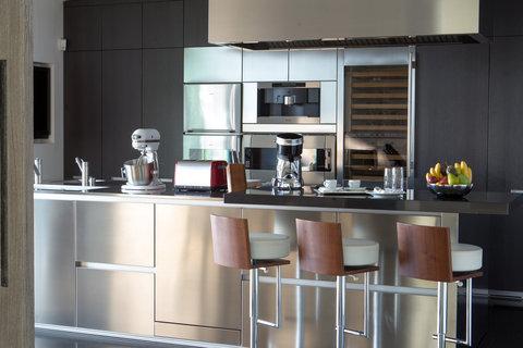 日内瓦香格里拉酒店及温泉 - Villa Du Lac Kitchen
