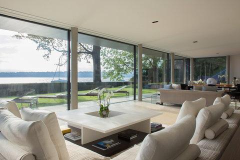 日内瓦香格里拉酒店及温泉 - Villa Du Lac Reserve Geneve Living Room