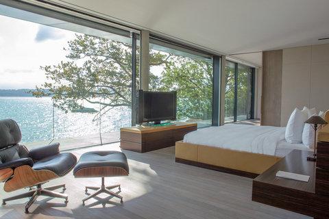 日内瓦香格里拉酒店及温泉 - Villa Du Lac Reserve Geneve Master Bedroom