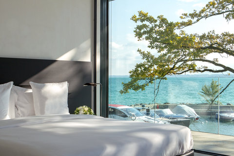 日内瓦香格里拉酒店及温泉 - Villa Du Lac Reserve Geneve Bedroom