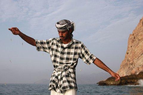 Six Senses Zighy Bay - Hand Fishing