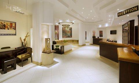 فندق هلتون شيخ فيروز - Reception
