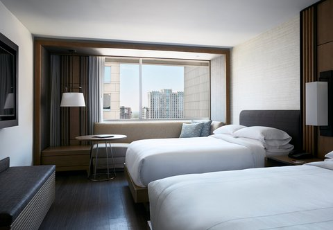 Marriott Charlotte City Center Hotel - Double Double Guest Room
