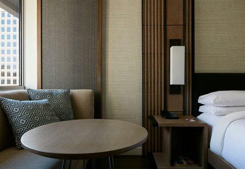 Marriott Charlotte City Center Hotel - Guest Room Amenities