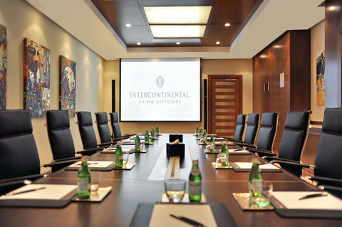 InterContinental CITYSTARS CAIRO - Boardroom Equipped with the Latest Technology