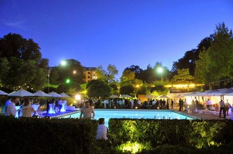 انتركوتيننتال جنيف - Social Event around the Pool
