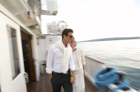 انتركوتيننتال جنيف - Boat on Lake Geneva