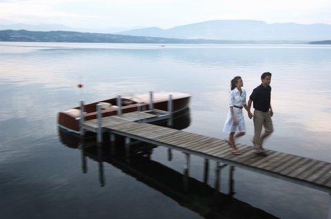 انتركوتيننتال جنيف - Take Time for Romantic Balad on Lake Geneva